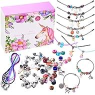 monochef DIY Charm Bracelet Making Kit, Jewelry Making Supplies Bead Snake Chain Jewelry Gift Set...