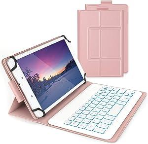Bluetooth Backlit Keyboard Case for 7