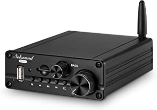 Nobsound NS-21G Mini 2.1 Channel Bluetooth 5.0 Power Amplifier Stereo Amp USB/AUX Music Player