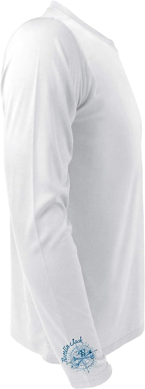 Rattlin Jack Cheap Bargain sale sale Men's UPF 50+ UV Sleeve Sun Shirt Protection M Long