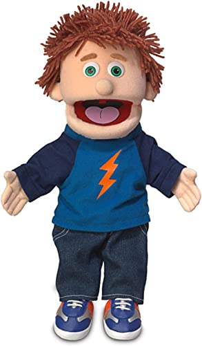 "14"" Tommy, Peach Boy, Hand Puppet"
