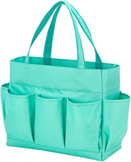 Carry All Tote Bag with 7 Outside Pockets Custom Embroidery Available