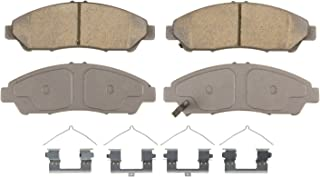 Wagner ThermoQuiet QC1378 Ceramic Disc Pad Set With Installation Hardware, Front