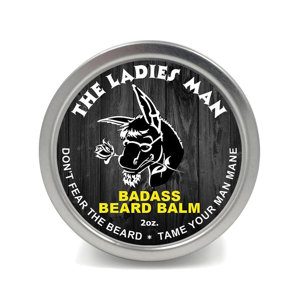 みなす権威セントBadass Beard Careビアードバーム2オンスレディースマン