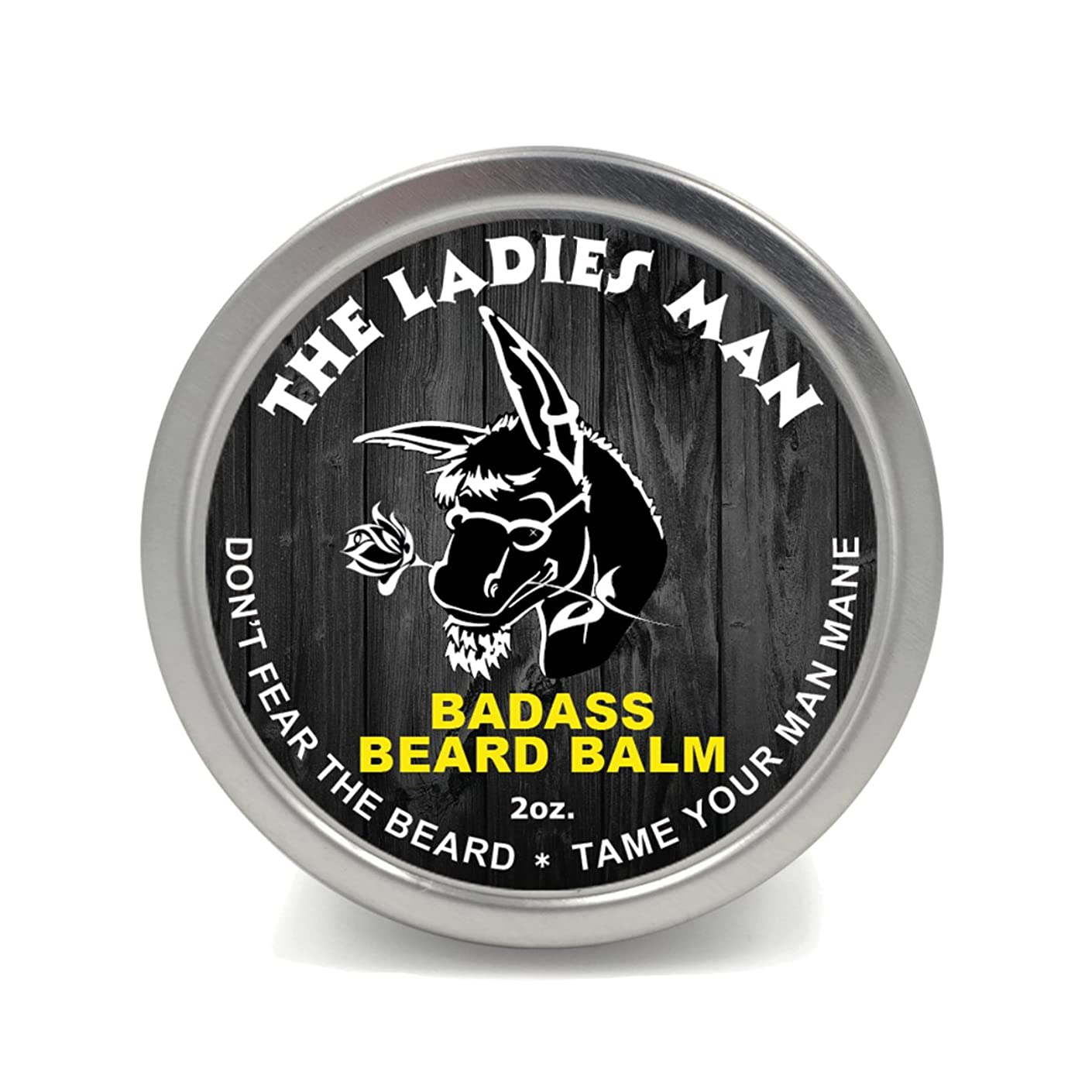 海洋シャーロットブロンテ送ったBadass Beard Careビアードバーム2オンスレディースマン