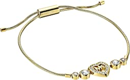 Michael Kors - Love Is In The Air Heart and Crystal Slider Bracelet