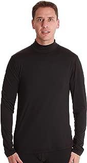 Men's Long Sleeve Thermal Shirt Compression Base Layer Mock Neck Top