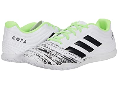 adidas Copa 20.4 IN (Footwear White/Core Black/Signa Green) Men