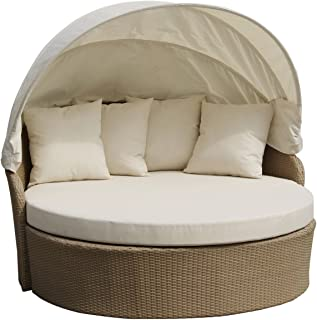 WUnlimited Outdoor Leisure Canopy Daybed with Cushion