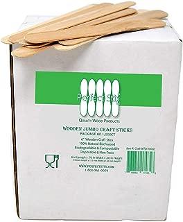 Perfect Stix Craft WTD-1000 Jumbo Craft Sticks, 0.1