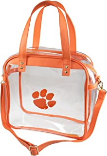 clemson clear tote