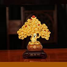 Sculptuur Decoratie - Creatieve Mode Gouden Cash Cow Hars Decoratie Gunstige Geschenken Woonkamer Studie Kantoor Desktop D...