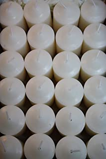 Enlightened Ambience Lavender Chamomile Healing White 24 Highly Scented Votive Candles