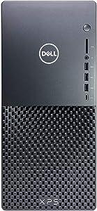 Dell XPS 8940 Tower Business Desktop Computer, Intel Core i5-10400 6-Core up to 4.3GHz, 32GB RAM, 1TB SSD+1TB HDD, GeForce GTX 1660 Super 6GB GDDR6 Graphics, USB 3.1 Type-C, WiFi, Windows 10 Pro