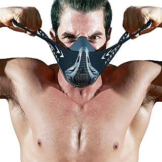 FDBRO Máscaras máscaras de Deportes, Estilo Negro, má