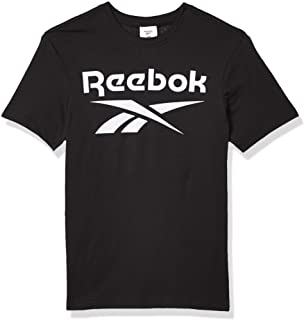 Reebok Men's Stacked Logo Tee