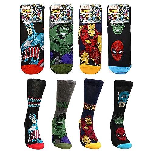 Superhero Dress Socks: