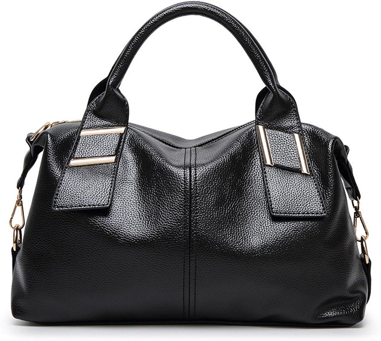 GWQGZ Neue Neue Neue Art Und Weisedamenhandtaschen Europäische Und Amerikanische Handtaschen Pu-Schulterbeutel Schwarz B07FKH7686  Feinbearbeitung e65294