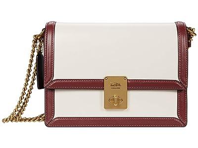 COACH Color-Block Trim Hutton Shoulder Bag