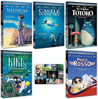 The Founders Collection: Written & Directed by Hayao Miyazaki (Nausicaa of the Valley of the Wind / Castle in the Sky / My...