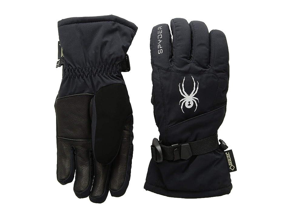 Spyder Synthesis Gore-Tex(r) Ski Gloves (Black/Black/Black) Ski Gloves