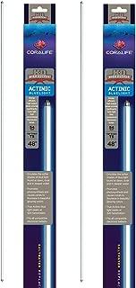 Coralife (2 Pack) HOT5 Replacement Lamp Actinic, 54 Watt 48