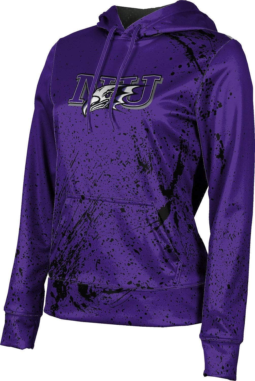 ProSphere Niagara University Girls' Pullover Hoodie, School Spirit Sweatshirt (Splatter)