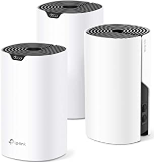 TP-Link Deco Whole Home Mesh WiFi System– Up to 5,500 Sq.ft. Coverage, WiFi Router/Extender...