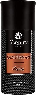 Yardley Gentleman Legacy Body Spray, 150 ml