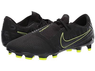 Nike Phantom Venom Pro FG (Black/Black/Volt) Men