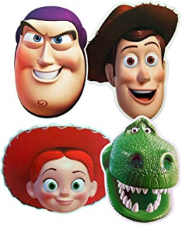 STAR CUTOUTS Toy Story - Multipack - Card Face Masks