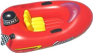 شنا شنا کودکان Speedboat با تورم شناور ، قرمز