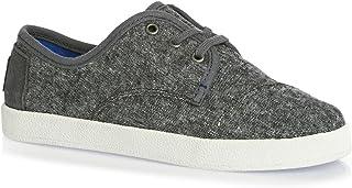 TOMS Kids Boy's Paseo Sneaker (Little Kid/Big Kid) Grey Wool Sneaker