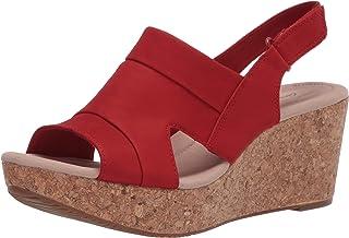 Clarks Annadel Ivory womens Wedge Sandal
