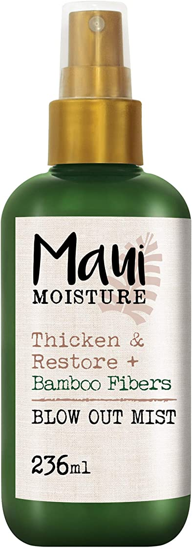 Maui umidità addensare & restore + fibra di bambù blow out mist 236 ml x 6231100
