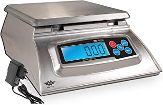 Kitchen Scale - Baker's Math Kitchen Scale - KD8000 Scale by My Weight, Silver by My Weigh