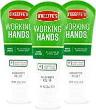 O'Keeffe's Working Hands Hand Cream, 3 ounce Tube, (Pack of 3)
