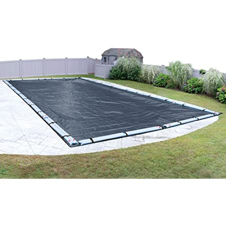 Amazon Com Robelle 421636r Premium Mesh Xl Blue Mesh Winter Pool Cover For In Ground Swimming Pools 16 X 36 Ft In Ground Pool Garden Outdoor
