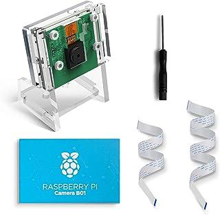 LABISTS Cámara Oficial para Raspberry Pi 5MP 1080p Sensor Cámara de Vídeo de Soporte Visión Nocturna para Raspberry Pi 3 M...