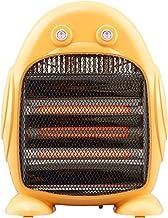 XYW-0007 Calefactor EléCtrica Calefactor PequeñO PingüIno 2 Archivos Silencioso De Ahorro De EnergíA En El BañO De La Oficina, Calentador De 800 Vatios Amarillo 32x15x43cm