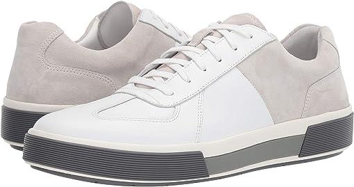 White/Horchata Maddox Leather