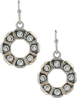 Horseshoe Nail Wreath Earrings