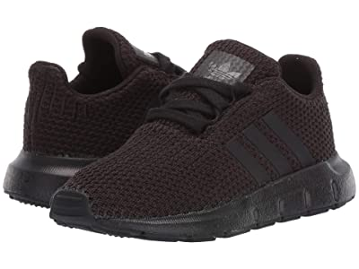 adidas Originals Kids Swift Run I (Toddler) (Black) Kids Shoes