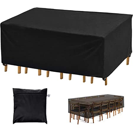 sombrilla etc. para mesa silla barbacoa Cubierta protectora para muebles de jard/ín
