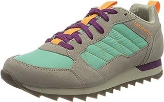Merrell Women's Alpine Sneaker, MOON/MINT, 14