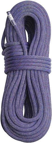 ZWYY Corde d'escalade extérieure, Corde de Rappel pour la spéléologie, Corde de Rappel pour entraînement de 11 mm de diamètre,violet,20m