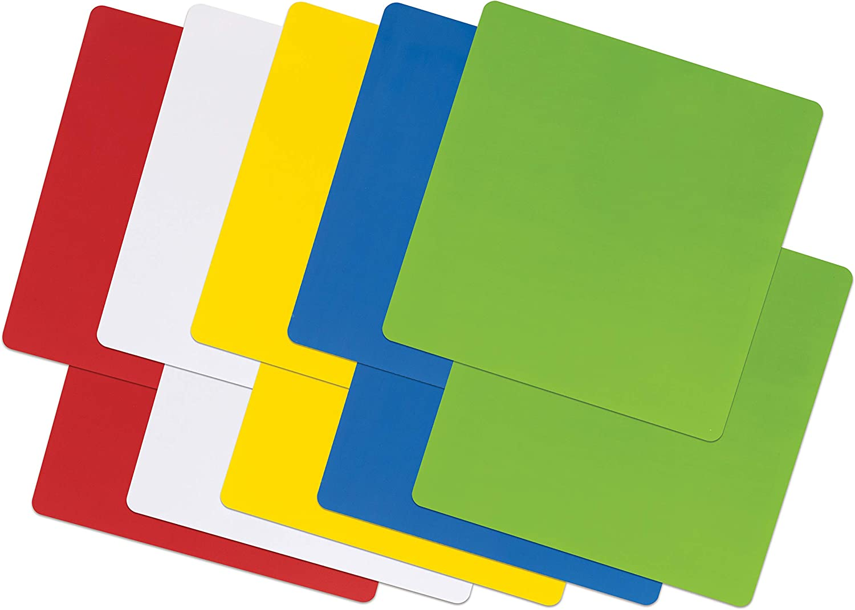 Pacon Self-Stick Dry Erase Squares x 10