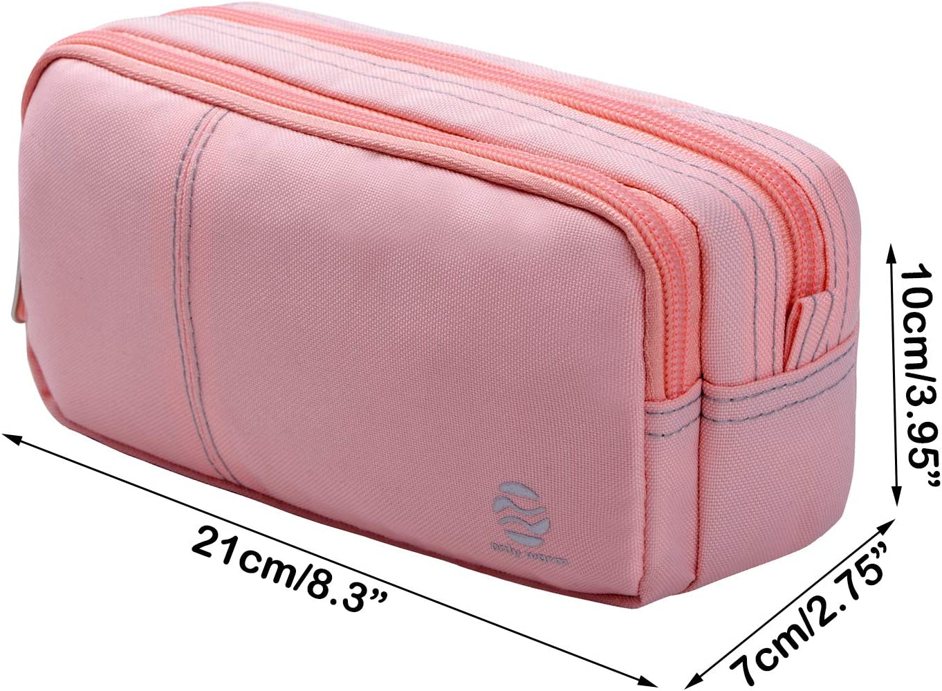 Large Pencil Case Organization Storage Big Capacity Storage Pen Bag Pouch Holder Maker Stationery Organizer with Durable Zippers for Middle High School College Student Girls Boys Adult