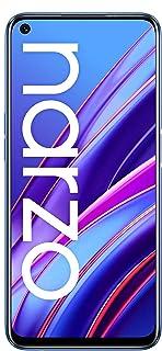 realme narzo 30 (Racing Blue, 4GB RAM, 64GB Storage) - MediaTek Helio G95 processor I Full HD+ display with No Cost EMI/Ad...