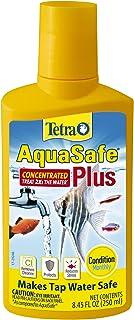 Tetra AquaSafe Plus - Acondicionador de agua, Blanco, 8.4-Ou